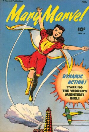 Cover for Mary Marvel #9