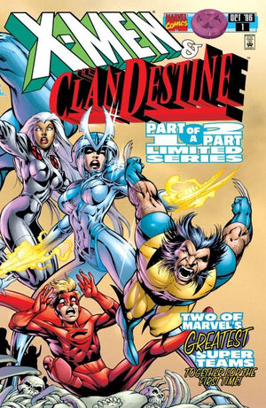 X-Men Clan Destine Vol 1 1