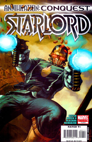 Annihilation Conquest - Starlord Vol 1 1
