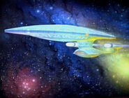 USS Enterprise-D Gemälde