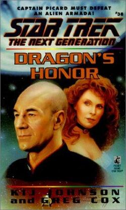 Dragon&#39;s Honor cover
