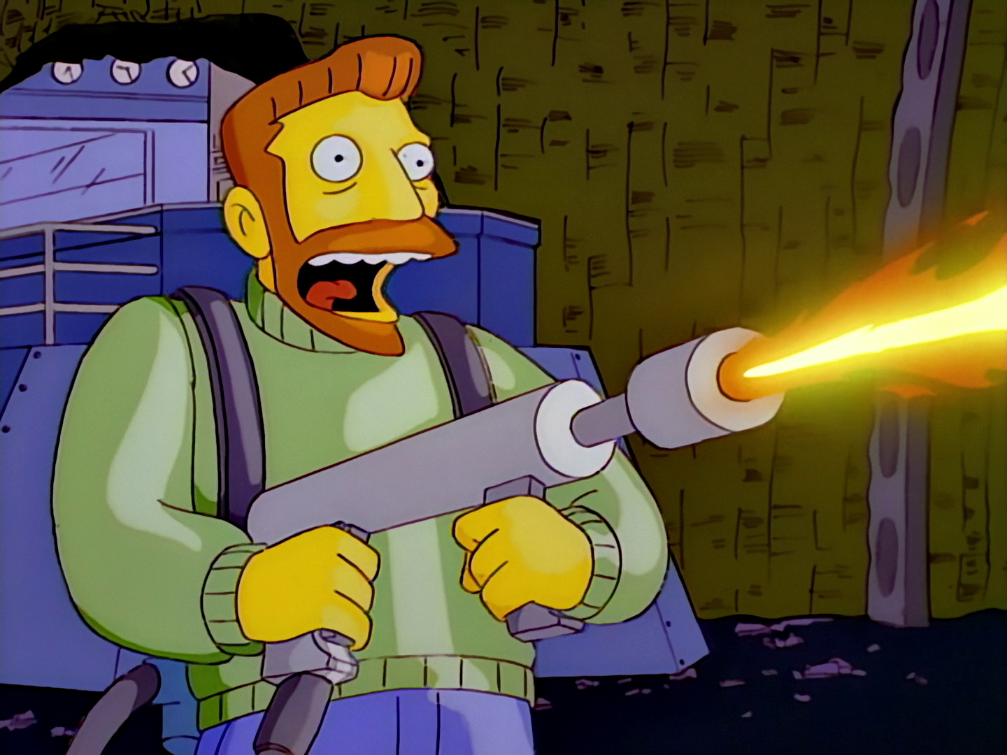 hank scorpio the simpsons