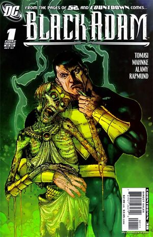 Cover for Black Adam: The Dark Age #1