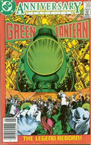 Cover for Green Lantern #200