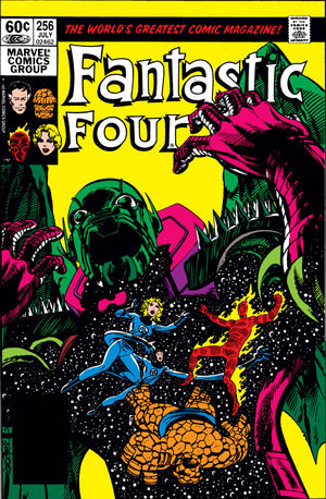 Fantastic Four Vol 1 256