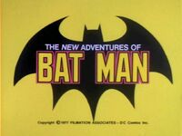 New Adventures of Batman logo