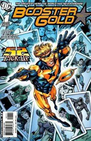 Cover for Booster Gold #1