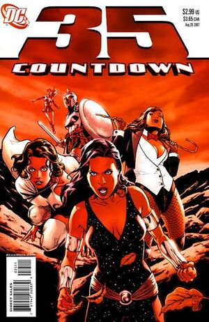 Cover for Countdown #35