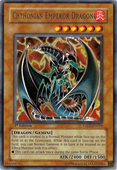 dragon and emperor