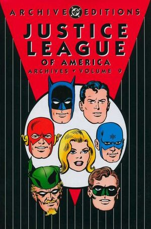 Cover for Justice League of America Archives #9