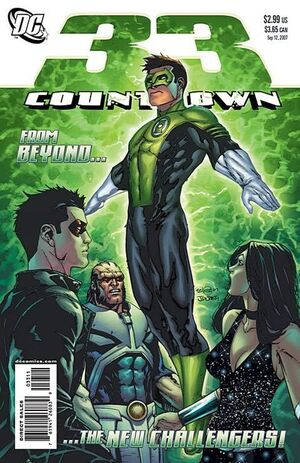 Cover for Countdown #33