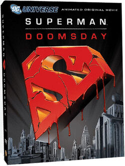 Superman Doomsday DVD