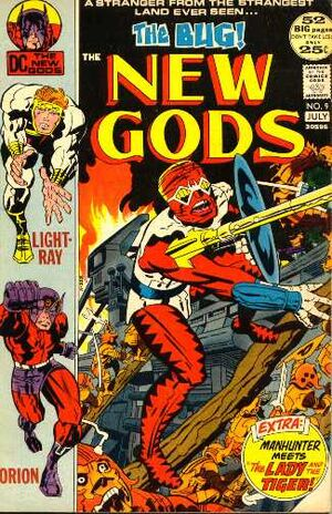 Cover for New Gods #9