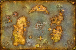 Azeroth New World Map
