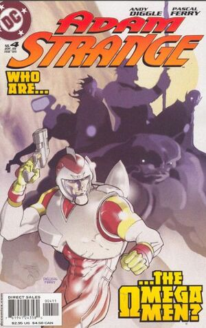 Cover for Adam Strange #4