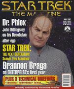 Star Trek The Magazine volume 3 issue 2 cover