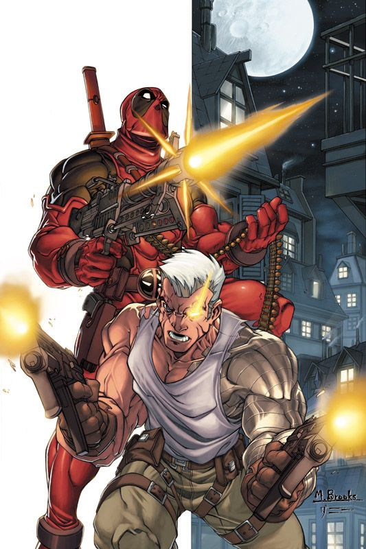 Cable & Deadpool Vol 1 5 Textless