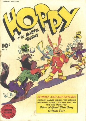 Cover for Hoppy the Marvel Bunny #2