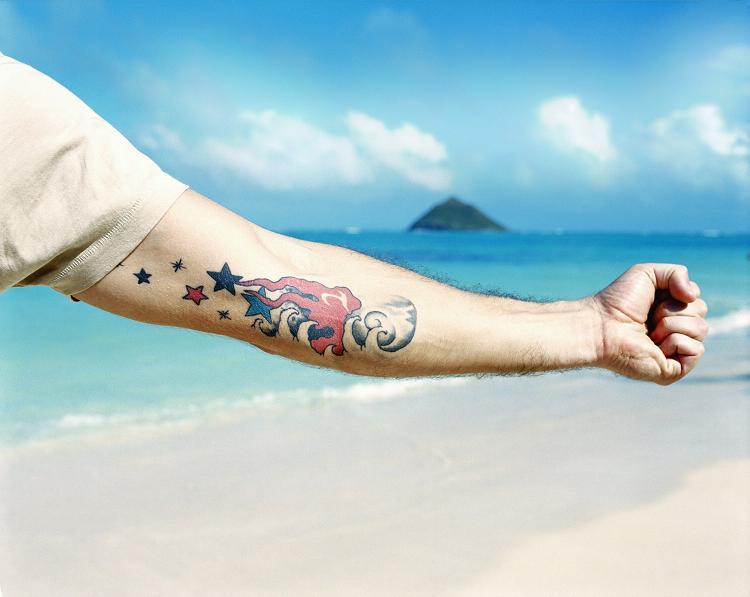 Matthew Fox Tattoos
