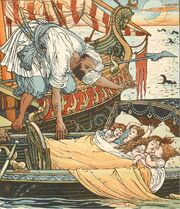 Princess Belle-Etoile 2 - illustration by Walter Crane - Project Gutenberg eText 18344
