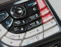 Zhuyin on cell phone detail