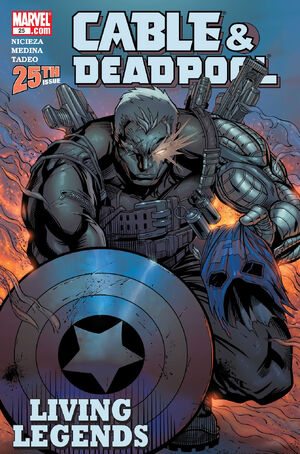 Cable &amp; Deadpool Vol 1 25