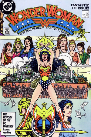 Cover for Wonder Woman #1 (1987)