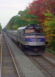 Amtrak downeaster ocean park 2005