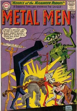 Cover for Metal Men #5