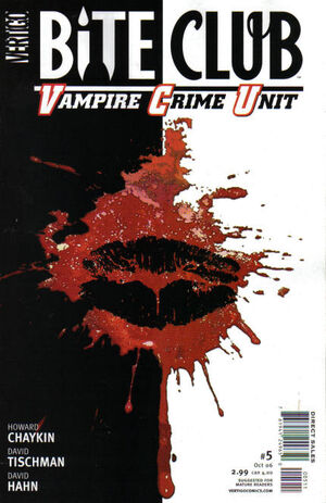 Cover for Bite Club: Vampire Crime Unit #5