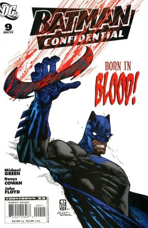 Cover for Batman Confidential #9 (2007)
