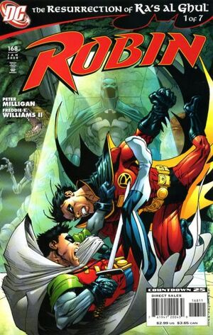 Cover for Robin #168