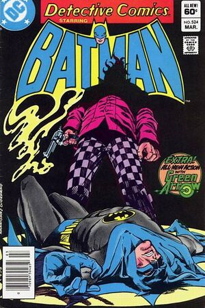 Cover for Detective Comics #524