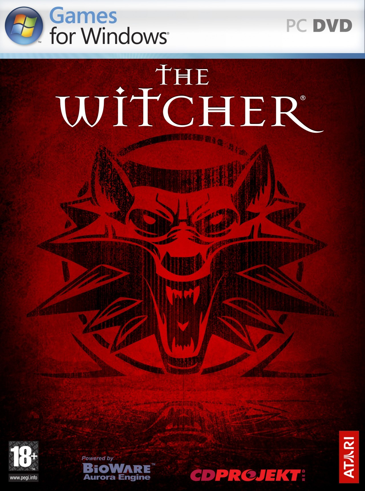 Witcher game box