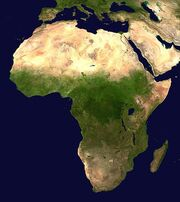 534px-Africa satellite orthographic