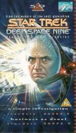 DS9 5.9 UK VHS cover