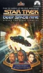 DS9 7.6 UK VHS cover