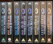 Movies 1998 UK VHS rerelease spines