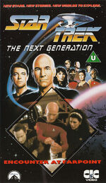 TNG vol 1 UK VHS cover