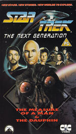 TNG vol 18 UK VHS cover