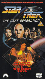 TNG vol 35 UK VHS cover
