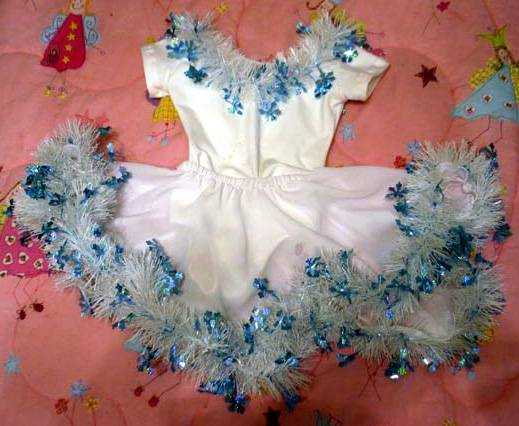 Быстрый костюм на новый год своими руками