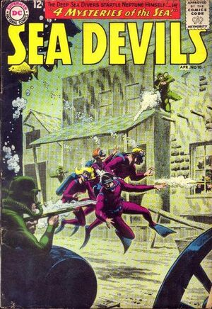 Cover for Sea Devils #10