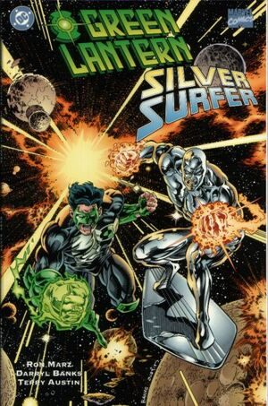 Cover for Green Lantern Silver Surfer: Unholy Alliances #1