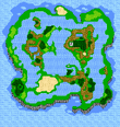 FF3 Floating overworld