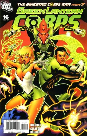 Cover for Green Lantern Corps #16