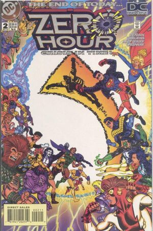 Cover for Zero Hour #2