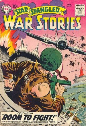 Cover for Star-Spangled War Stories #77