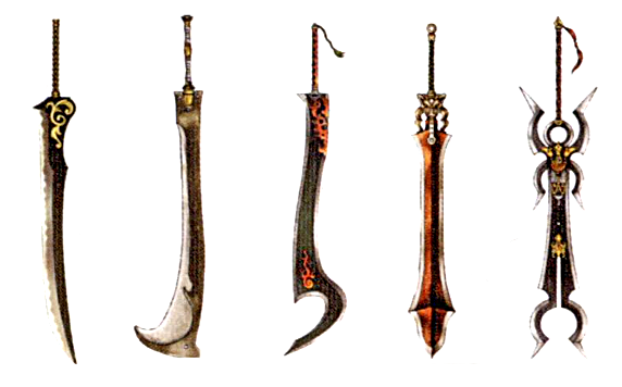 Final Fantasy X Swords