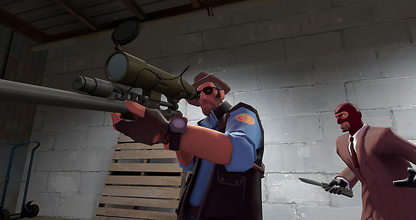 meet the demoman first person second